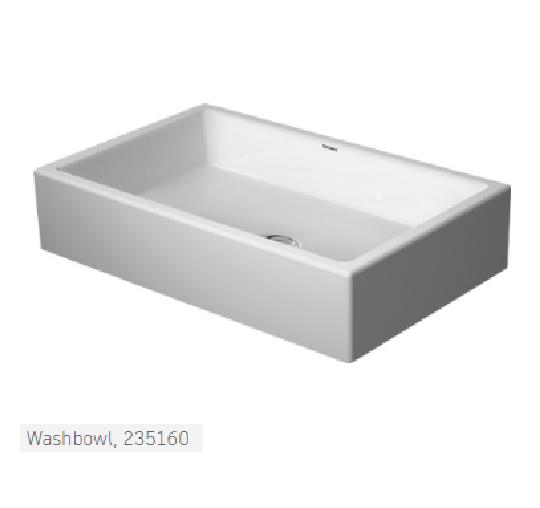 Duravit Washbowl Leptos Bathroom Designs Cyprus