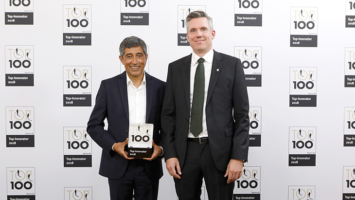Hansgrohe SE Among 2018's Innovation Leaders